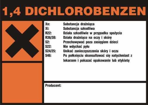 1,4 Dichlorobenzen