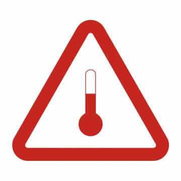 Oznakowanie dla materiałów o podwyższonej temperaturze