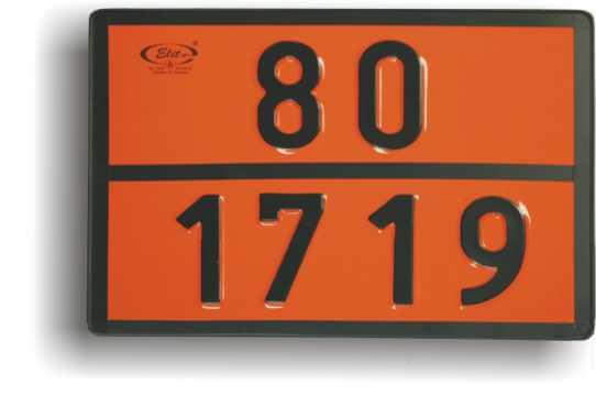 Tablice dla jednostek transportowych przewożących towary niebezpieczne
