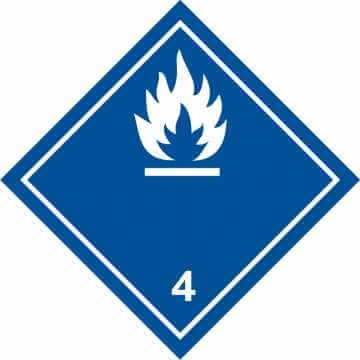 Materiały wytwarzające w kontakcie z wodą gazy zapalne 3