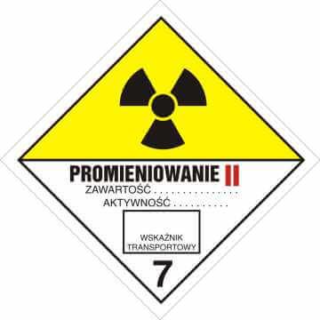 Materiały promieniotwórcze. Kategoria II