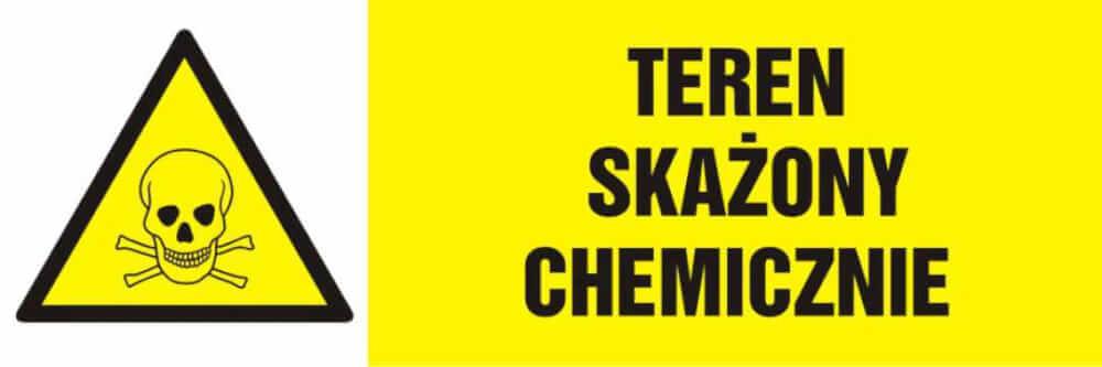 Teren skażony chemicznie