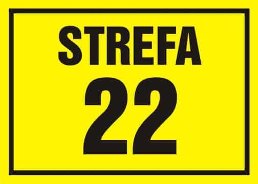 22 Strefa zagrożenia wybuchem