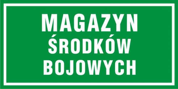 Magazyn środków bojowych