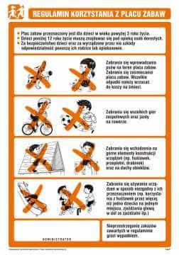 Regulamin korzystania z placu zabaw