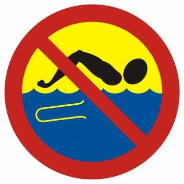 Kąpiel zabroniona - woda skażona