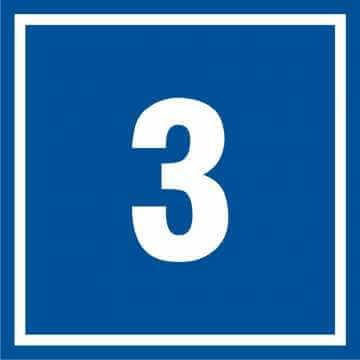 Tabliczka numer 3