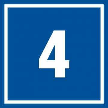 Tabliczka numer 4