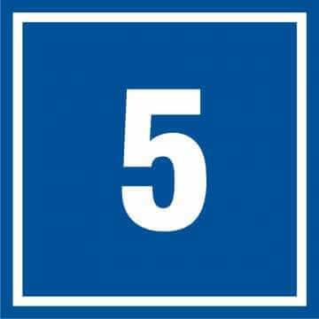 Tabliczka numer 5