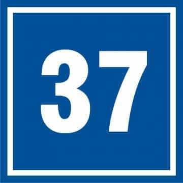 Tabliczka numer 37