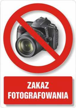 Zakaz fotografowania 3