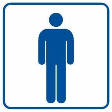 Toaleta męska 2