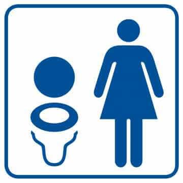 Toaleta damska 3