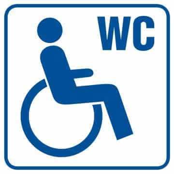 Toaleta dla inwalidów