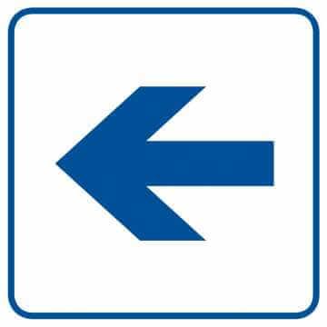 Wskazanie kierunku