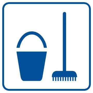 Miejsce na środki czystości