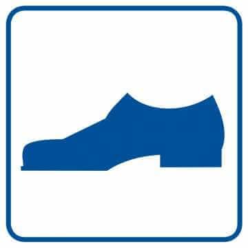 Tu można wchodzić w obuwiu zewnętrznym