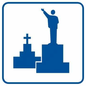 Pomniki, mogiły, cmentarze