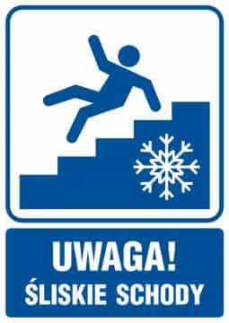 UWAGA! Śliskie schody 2