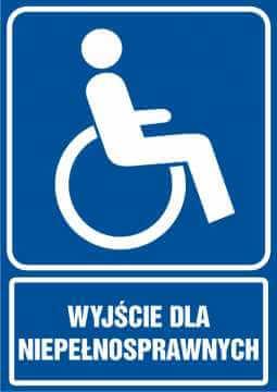 Wyjście dla niepełnosprawnych