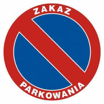 Zakaz parkowania 3