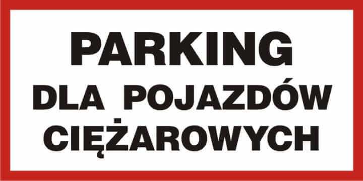 Parking dla pojazdów ciężarowych
