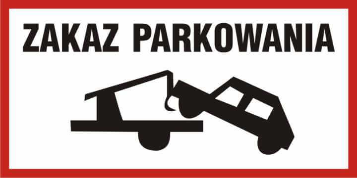 Zakaz parkowania 5